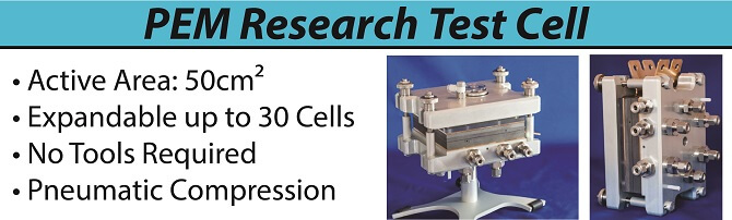 Expandable PEM Research Test Cell