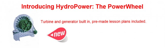 Hydro Power Wheel