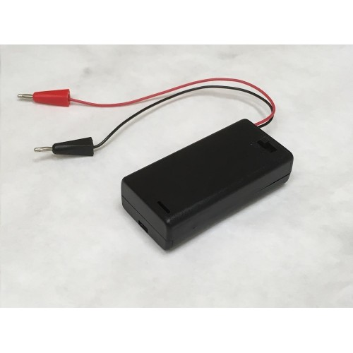Used Car Batteries >> Battery Pack - 2 AA with 2mm Banana Plugs