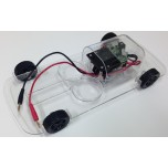 Intelligent Fuel Cell Car Chassis with Motor and Flashing Lights