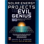 Solar Energy Projects for the Evil Genius [Paperback]