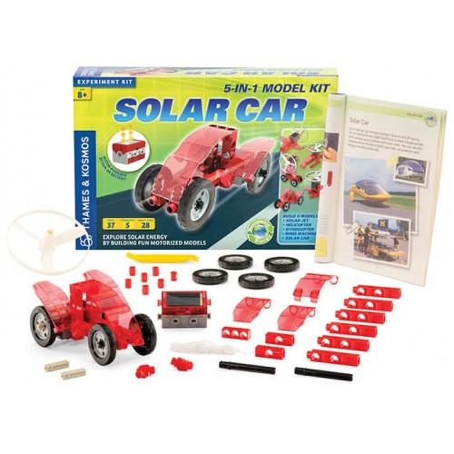 Solar Powered Electric Motor Kit: Solar Car