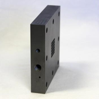 Flow Battery Graphite Flow Field, Column-Pin - 5 cm2