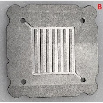 Flex-Stak BiPolar Graphite Plate - 10 cm²