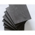 "Isomolded Graphite Plate - 4"" x 4"""