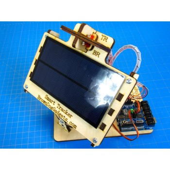"Dual Axis ""Smart"" Solar Tracker"