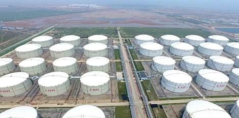 Crude oil storage tank condition monitoring