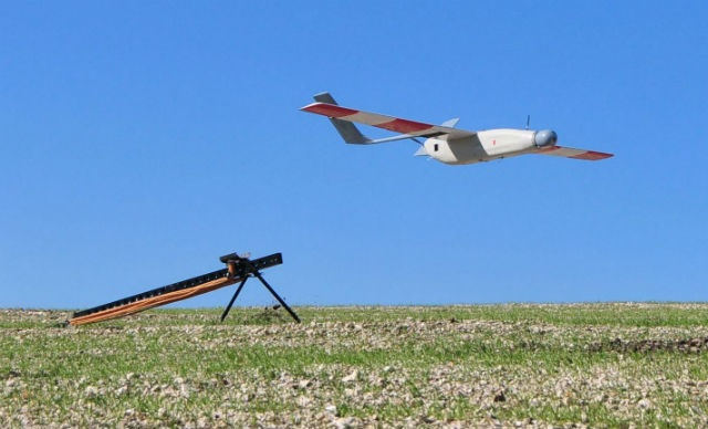 Catapult launched fixed-wing UAVs