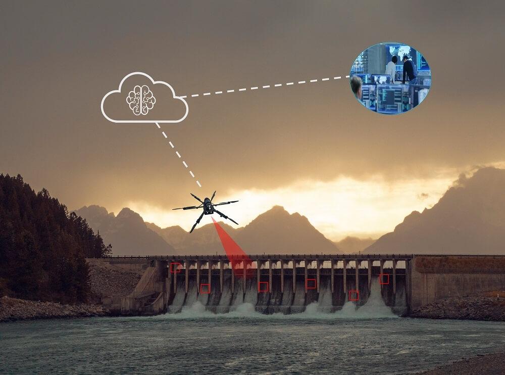 Hydropower dam safety inspection