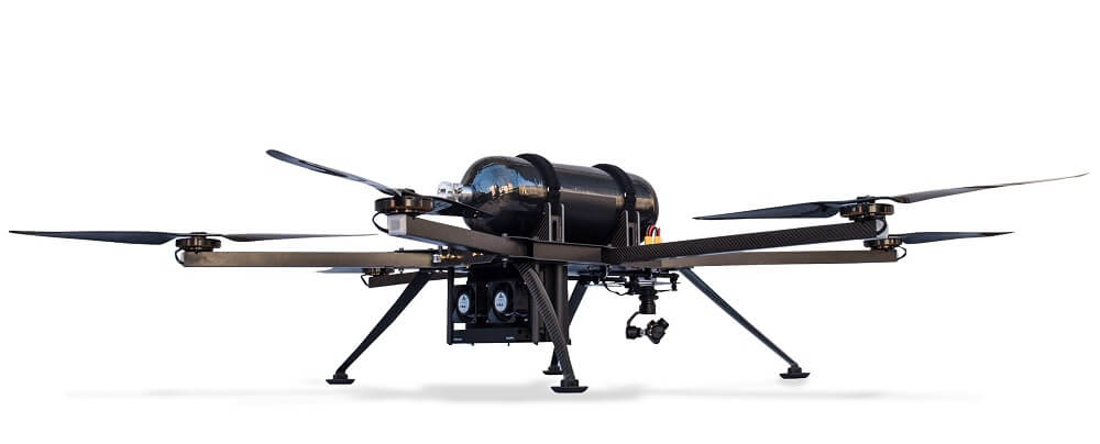 High performance multi-rotor drones