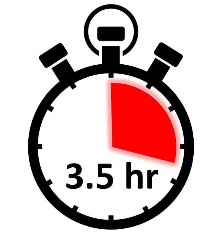 Longer flight duration