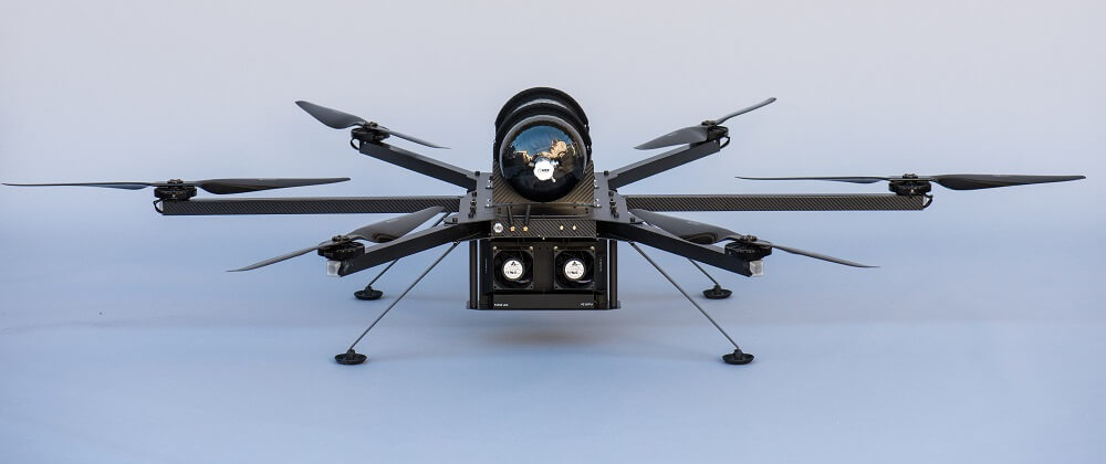 HYCOPTER with ultralightweight PEMFC